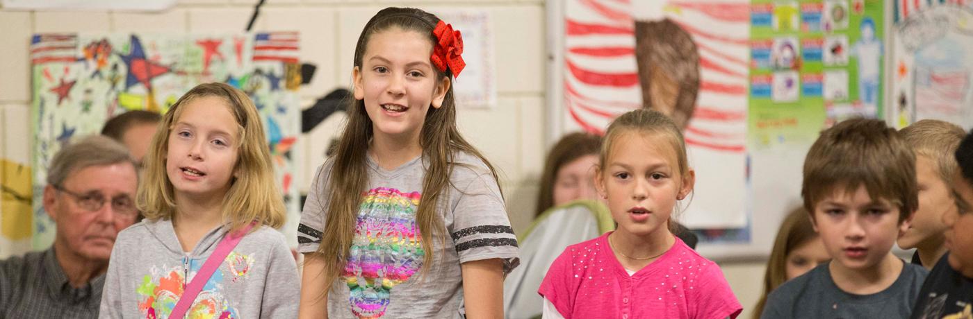 Studebaker Elementary School Students